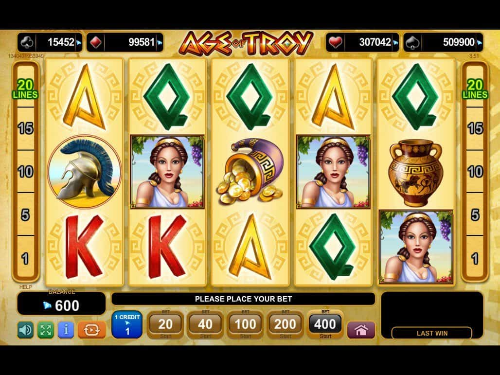 Age of Egypt slot finns pokerspelare