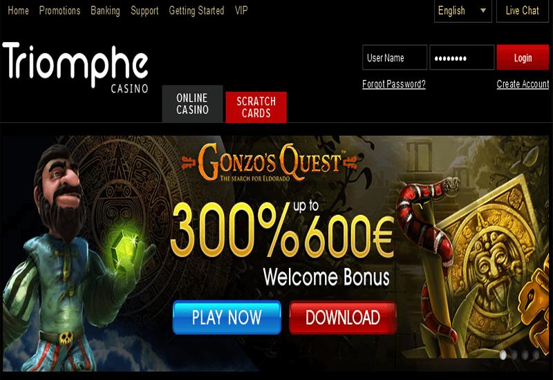 Förbetalda bankkort casino Triomphe köpa