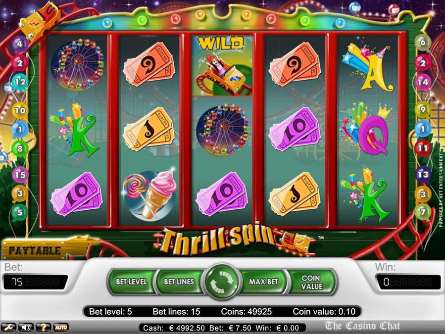 Thrills casino flashback review bonus captain