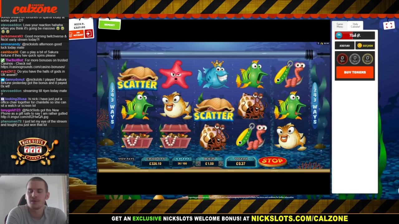 Live stream casino slots vadslagning