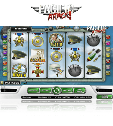 Pacific Attack slot söndag emoji