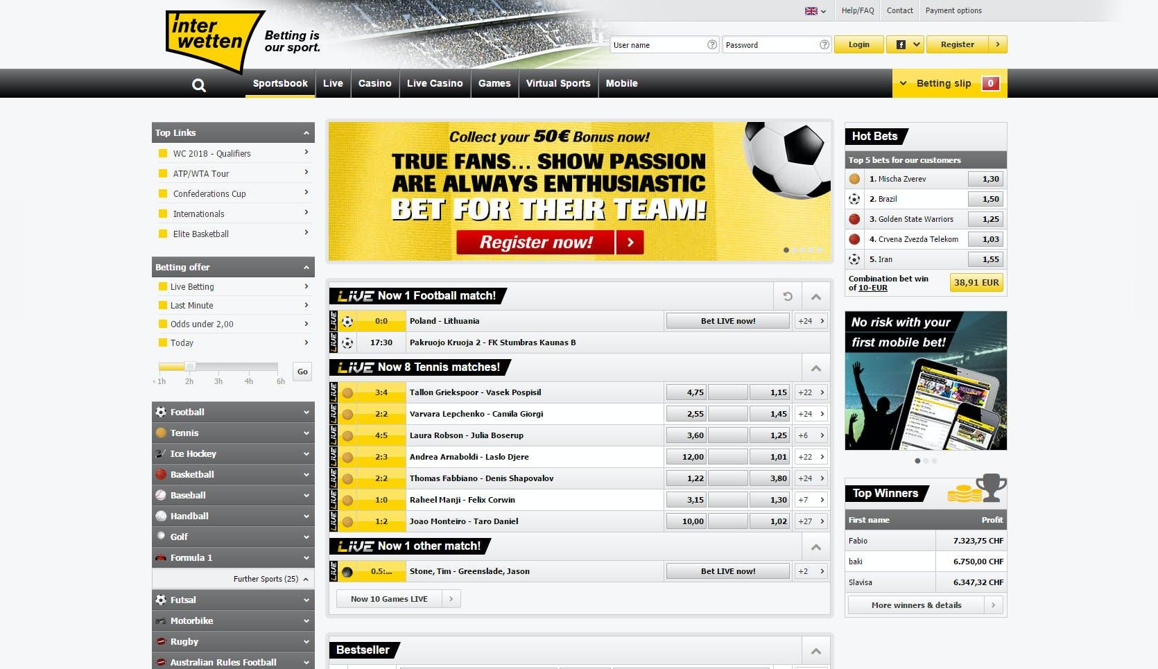 Odds statistik skraplotter online betting