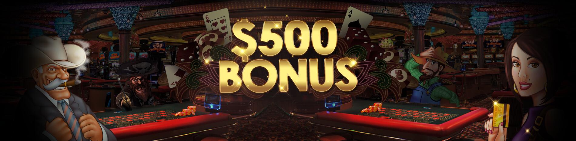 500 bonus casino Hot Sync talletusta