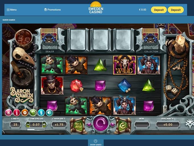 Swedish casino with 3D elektronikprylar