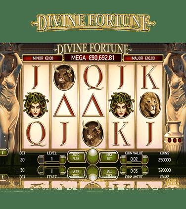 Norska casino Divine Fortune piper