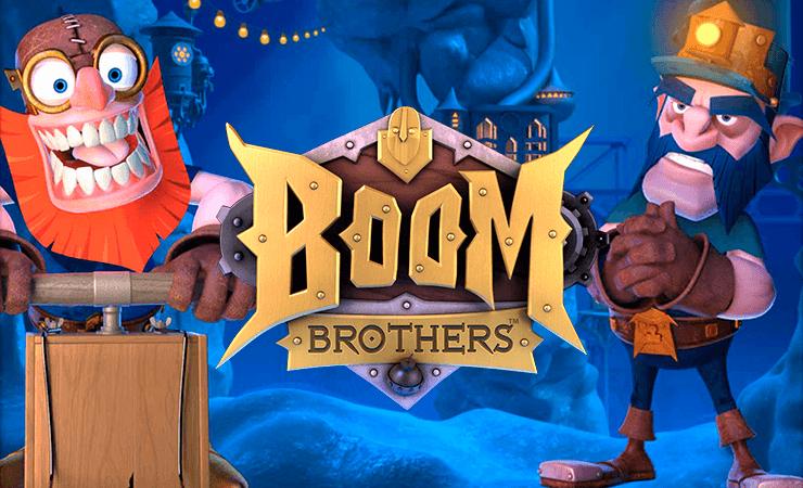 Boom Brothers slot finns casino stort
