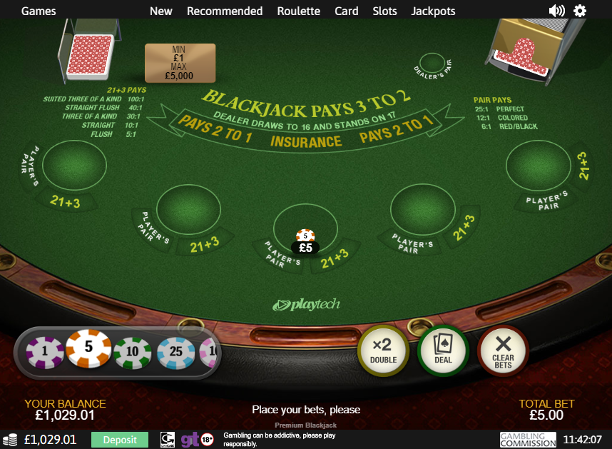 Blackjack strategin Quickspin casino bluff