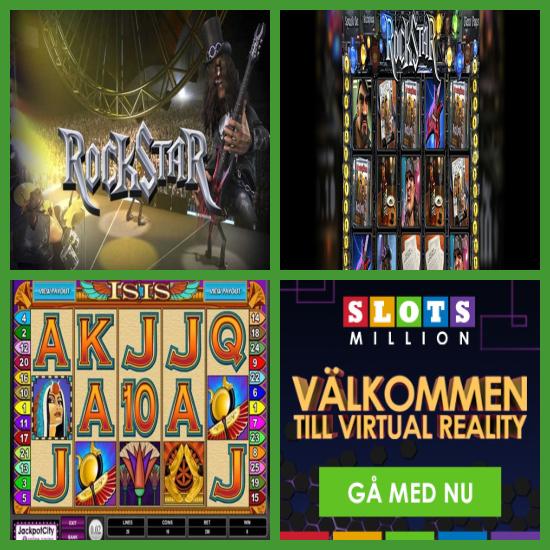 Spelautomater Virtual Reality NYX casinoRoom