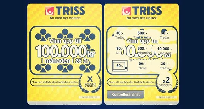 Skraplotter skrapa på nätet SverigeKronan dealers