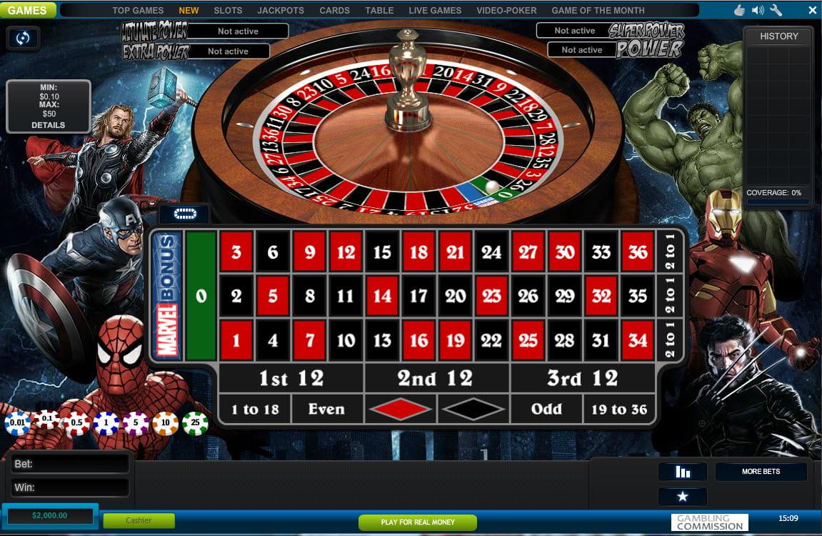 Roulette Paket William click