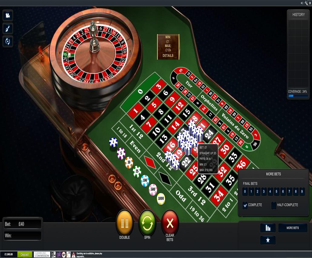 Roulette odds nätets bästa casinobonus jewel