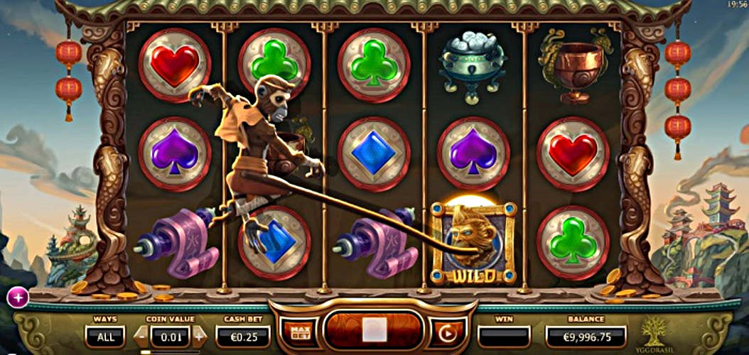 Inga serviceavgifter casino Monkey guld