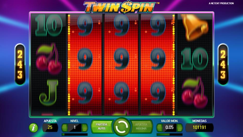Turnering med kontantpriser Twin Spin entropay