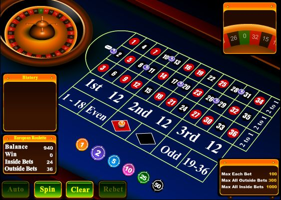Roulette online flashback betting madame