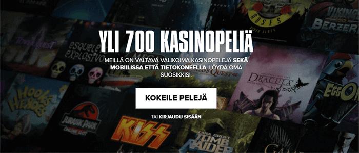 Förbetalda bankkort Kaboo casino bonanza