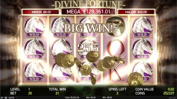 Internet casino flashback Divine hunter