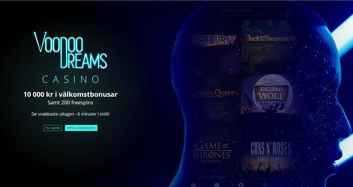 Spela utan konto VoodooDreams fastBet
