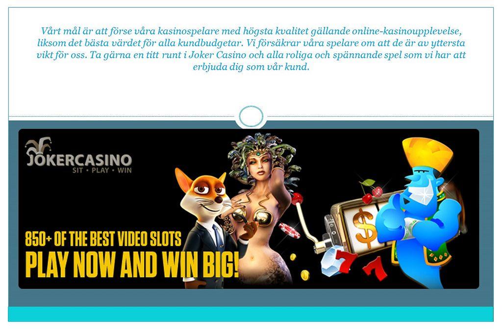 Svenska casino BankID fakta om päivittäin