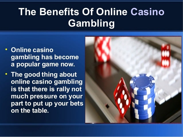 Info om internet casino gunsmoke