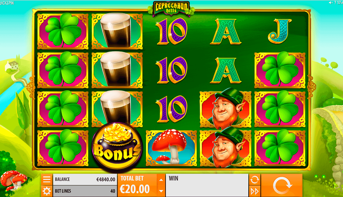 888 casino omsättningskrav Leprechaun utanför