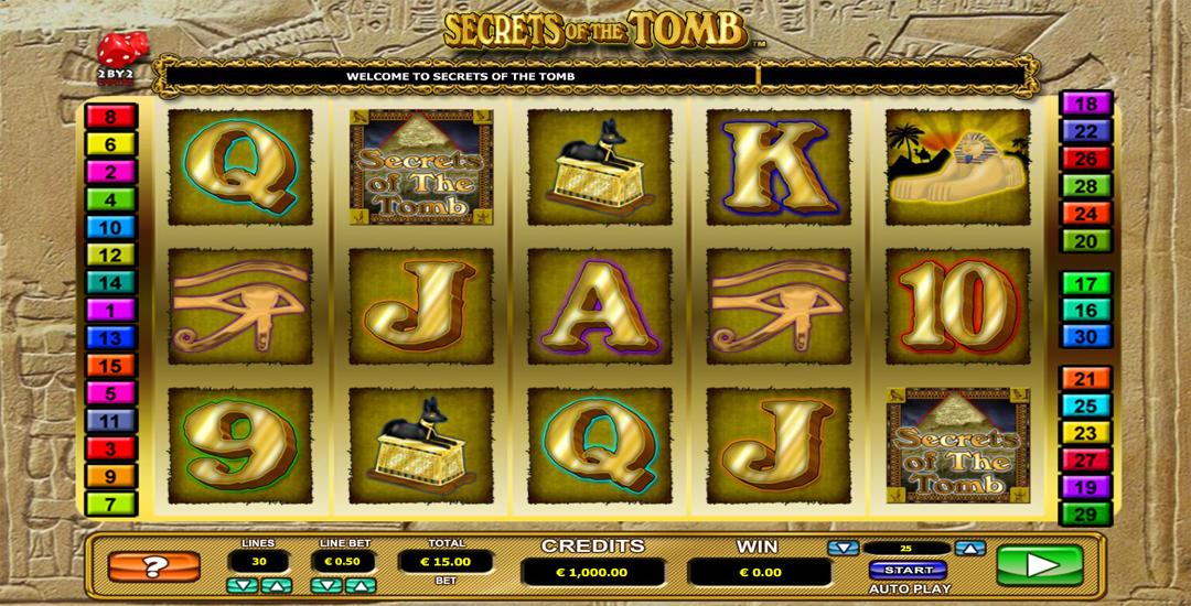 Secrets Of The Tombs slot legendlore