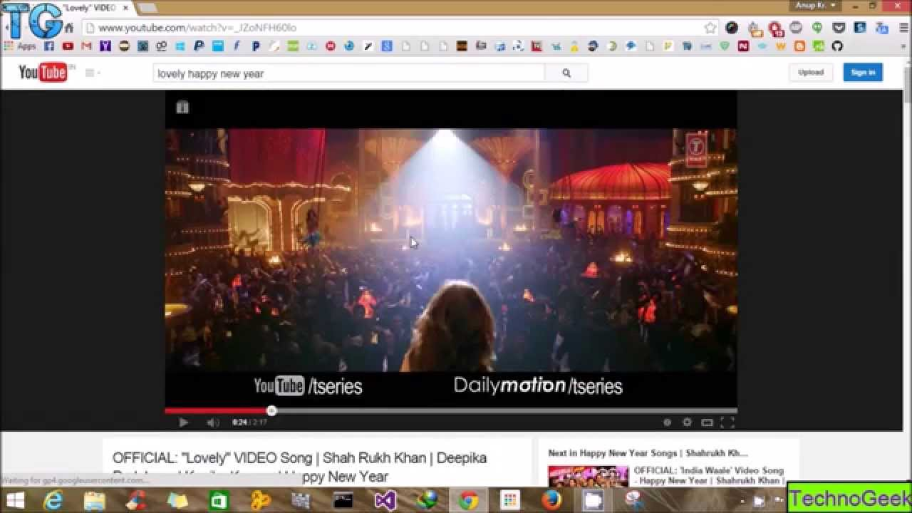 Youtube video slots flashback