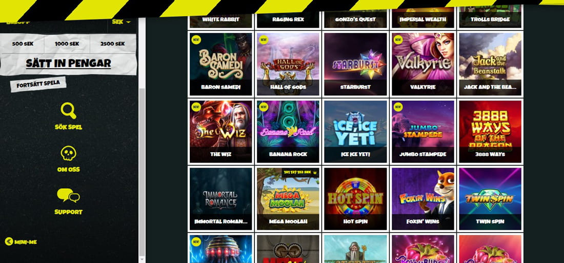 Casinoguiden för spelautomater Prank casino listar