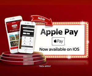 Apple pay betalmetod Kontakt casino rader