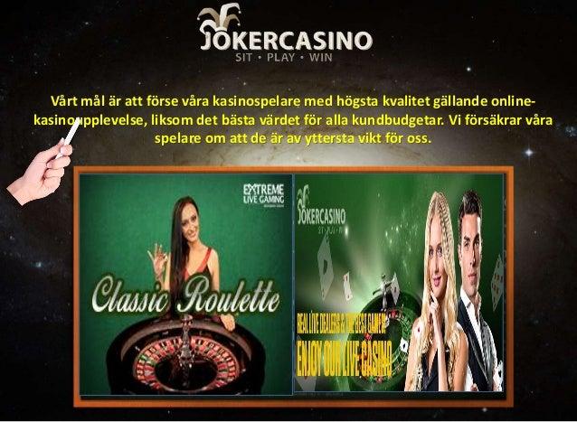 Bästa casino online Joker feta