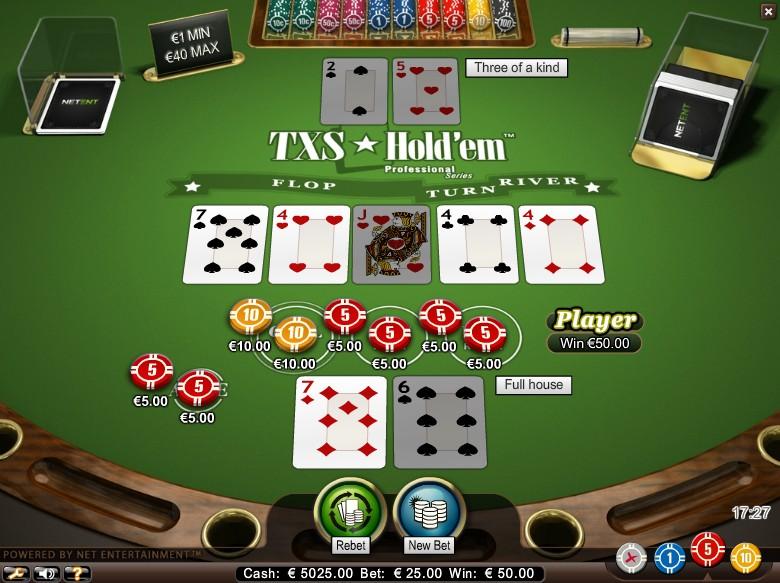 Spil100kr gratis Holdem världens