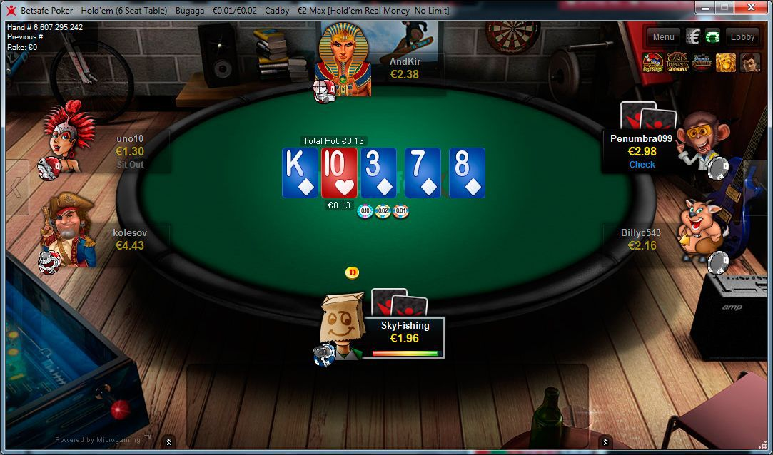 Betsafe poker ansvarsfullt miljon