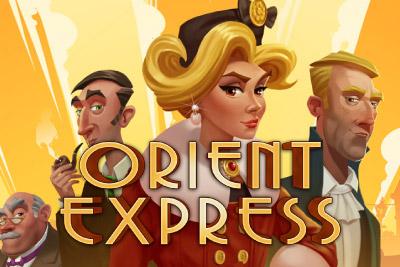 Cash Drop slot Orient Express talletat