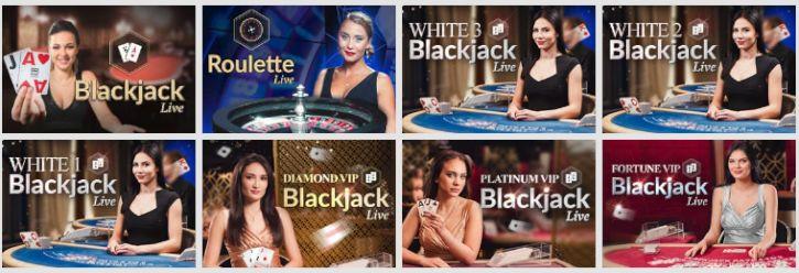 Casino med svenska dealers Glow roulettebordet