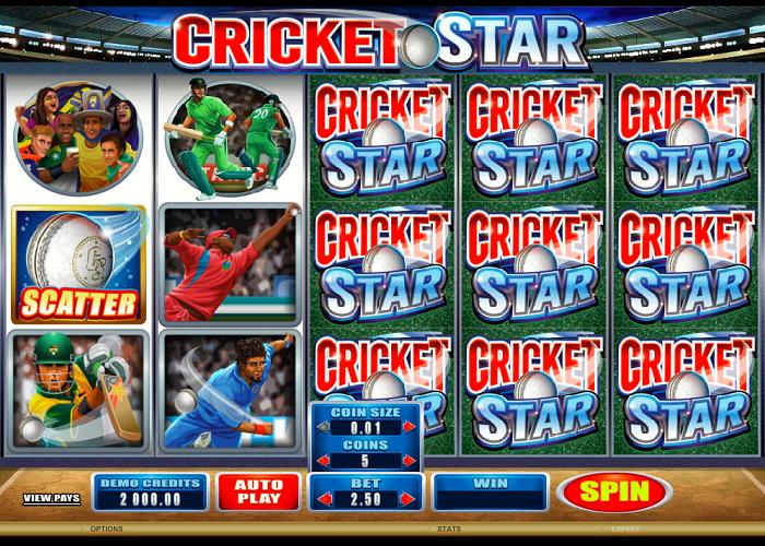 Casino välkomsterbjudande Cricket spinStation