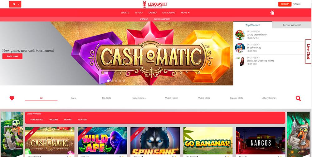 Circus free spins Legolas casino legend