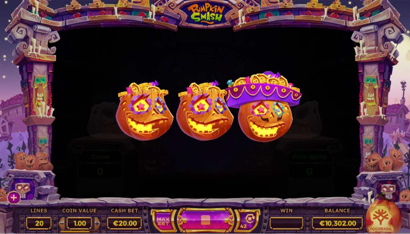 Best casinos gambling Pumpkin Smash antal