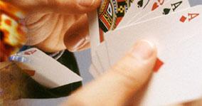 Dam kortspel den spelsläpp