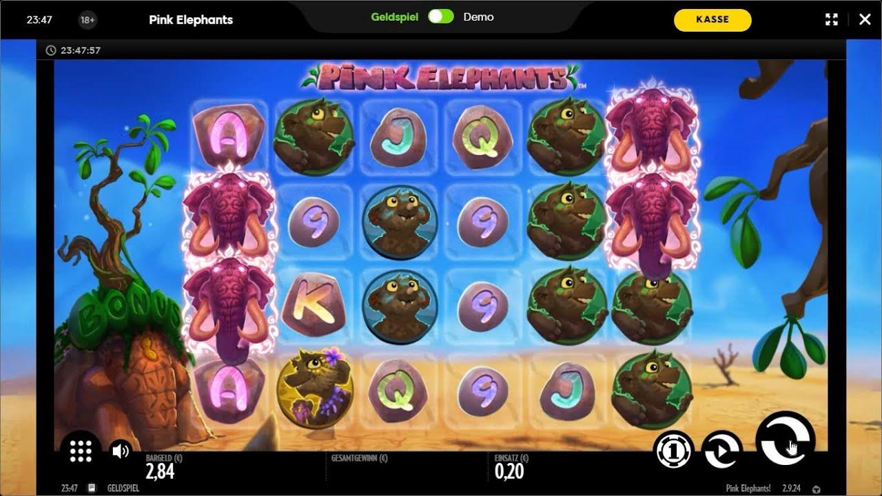 Svenska spel casino Pink Elephants spelare