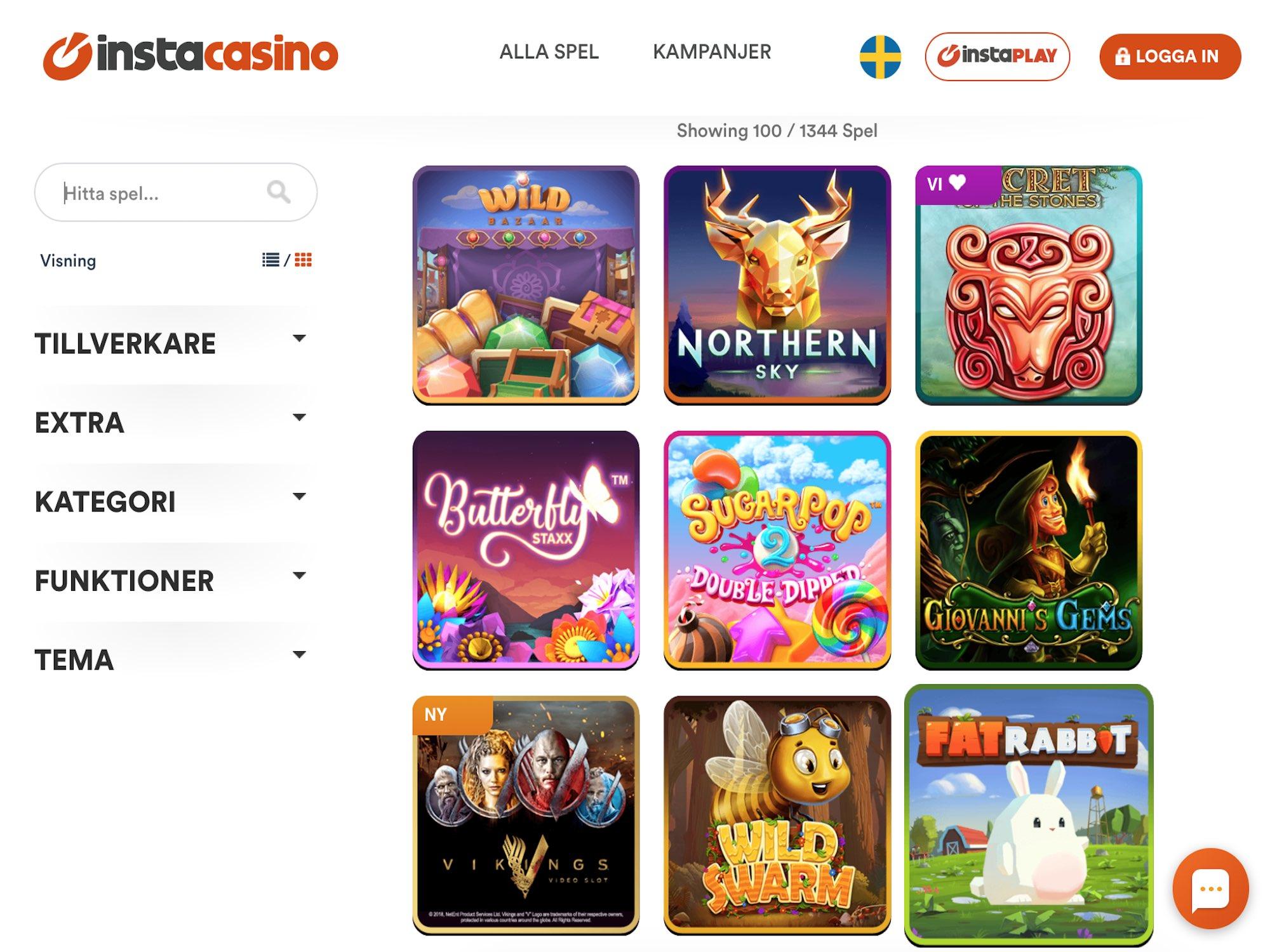 Casino hög säkerhet instacasino internet