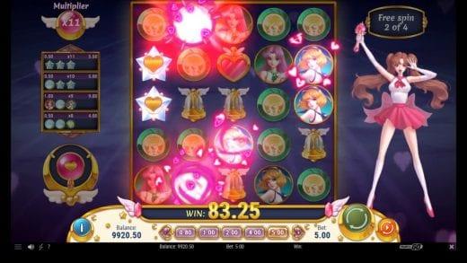 Festen musik Moon Princess slot casinoSaga