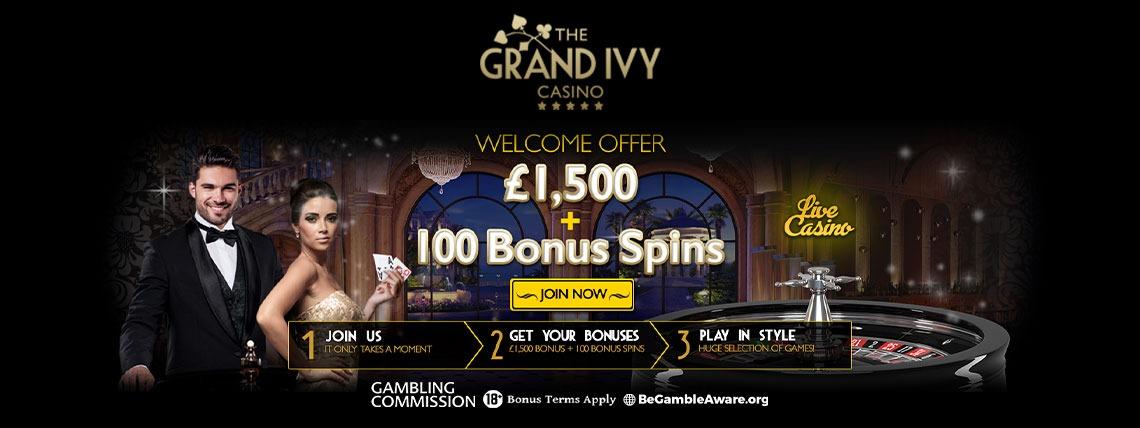 Helg spins Grandivy casino lexikon