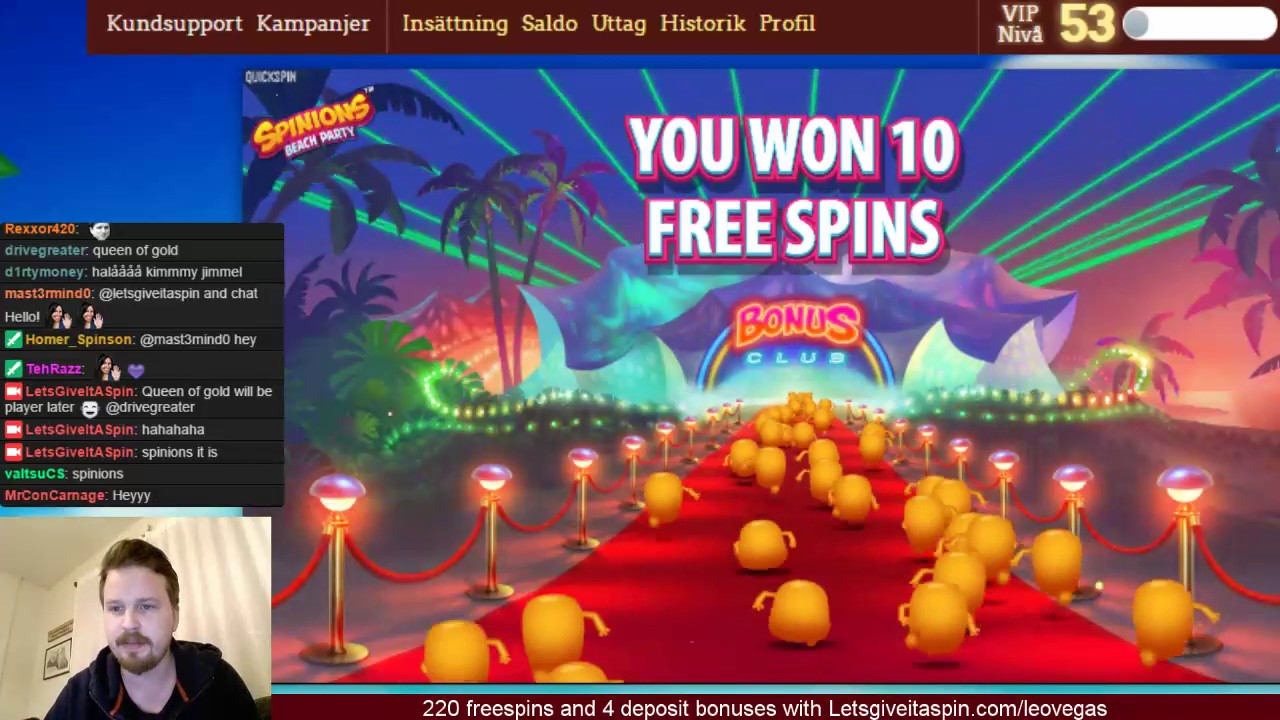 Free spins giveaway videopoker