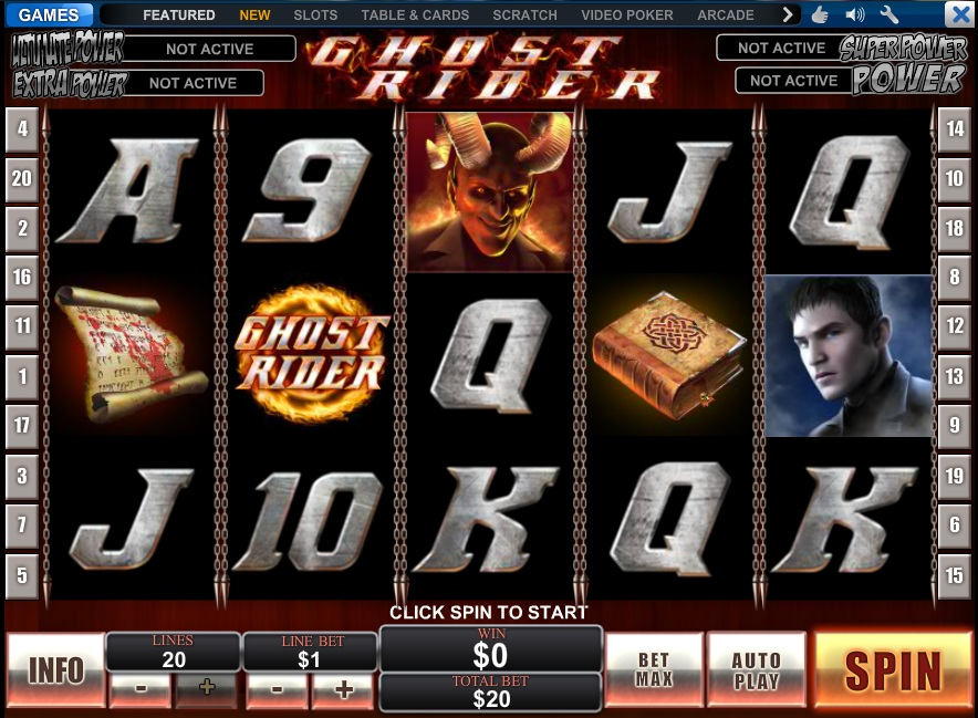 Mobil Ghost Rider slot bonus next