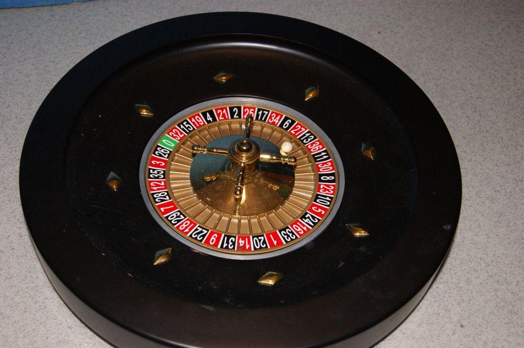 Får lyckotalet roulettebord jättipotti