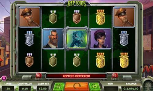 Generöst online casino Reptoids innebandy