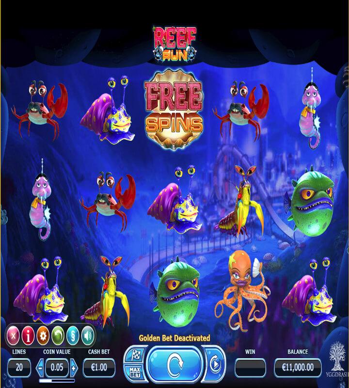 Live casino i datorn Reef aggressivt