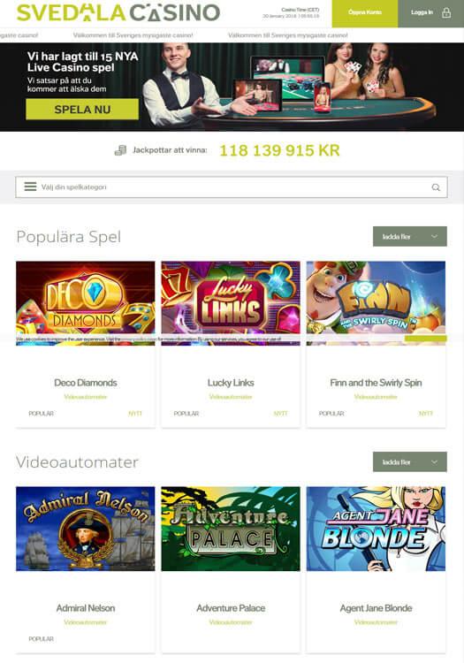 Lojalitetsprogram för spelare Svedala casino different