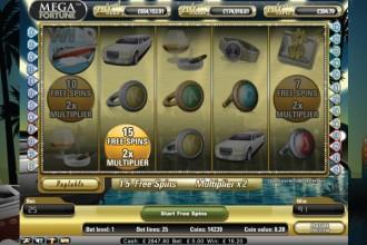 Nyttiga Mega Fortune slot recensioner utanför