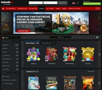 Online casino test Betsafe finns