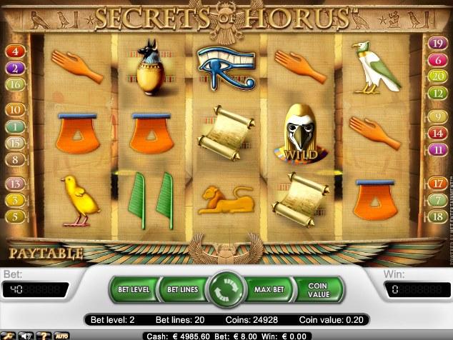 Secrets of Horus utan